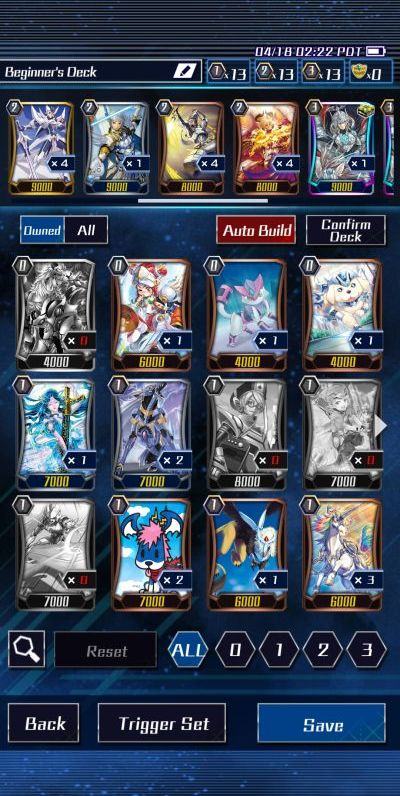 how to build a powerful deck in vanguard zero