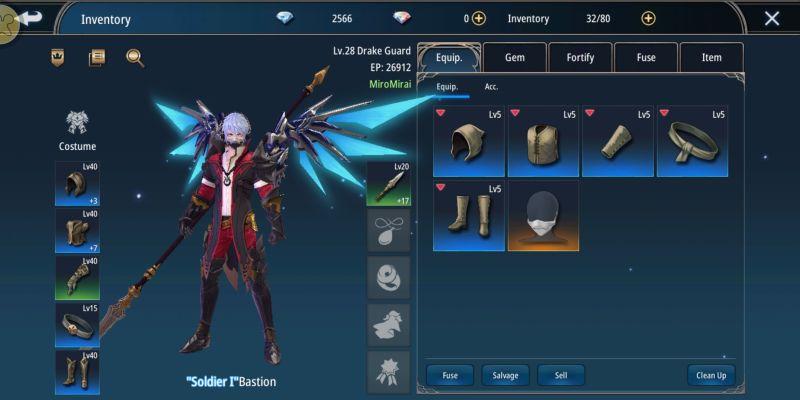 how to enhance gear in aura kingdom 2