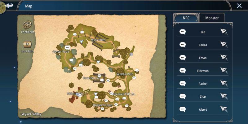 aura kingdom 2 map exploration