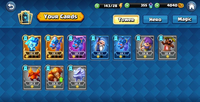 beast quest ultimate heroes cards