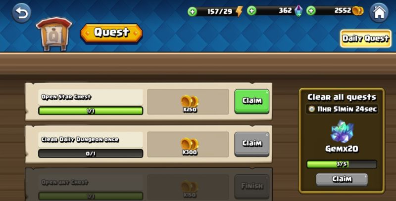 beast quest ultimate heroes daily quests