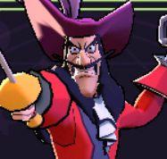 captain hook disney sorcerer's arena