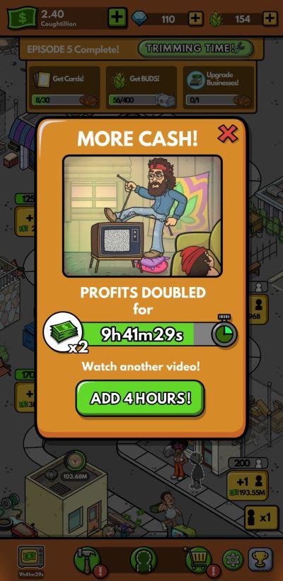 cheech and chong bud farm profit multiplier
