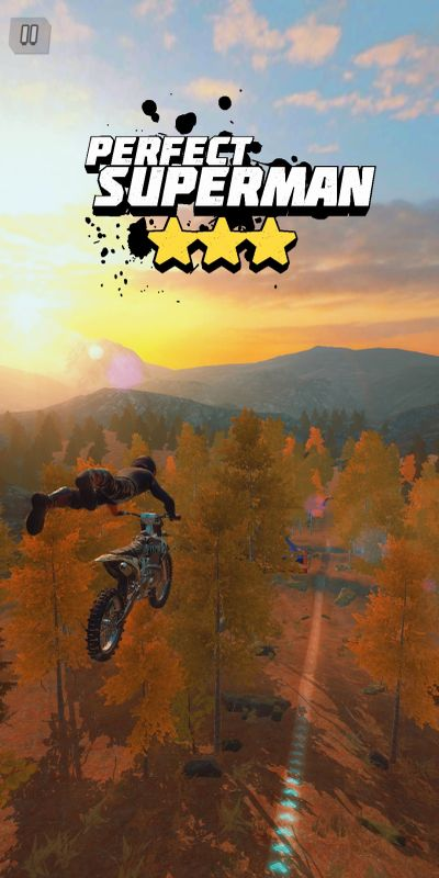 dirt bike unchained perfect superman