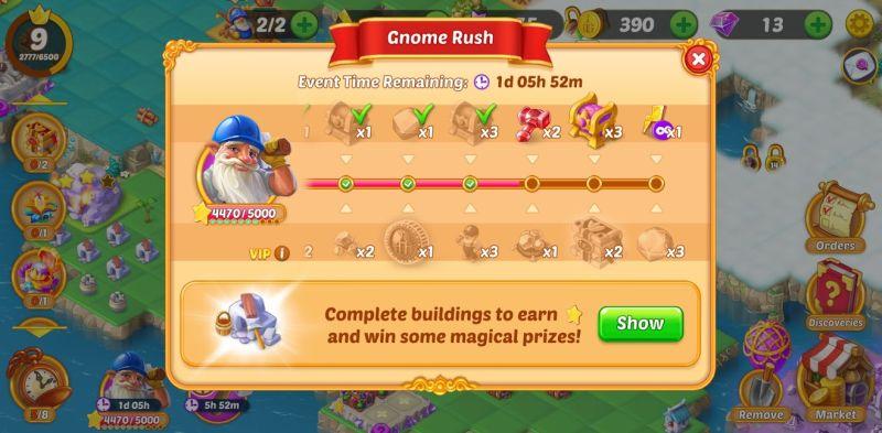 evermerge gnome rush