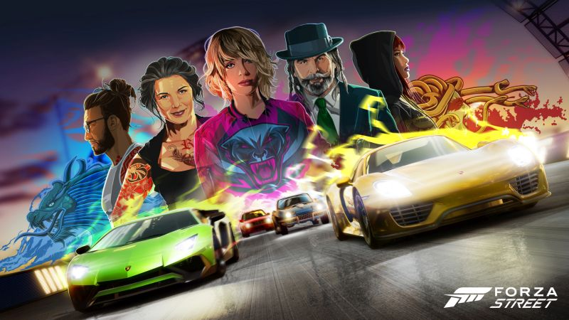 forza street characters