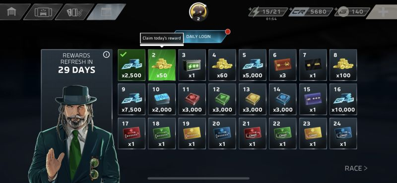 how to earn more rewards in forza street
