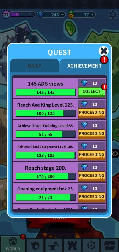 hero factory achievements