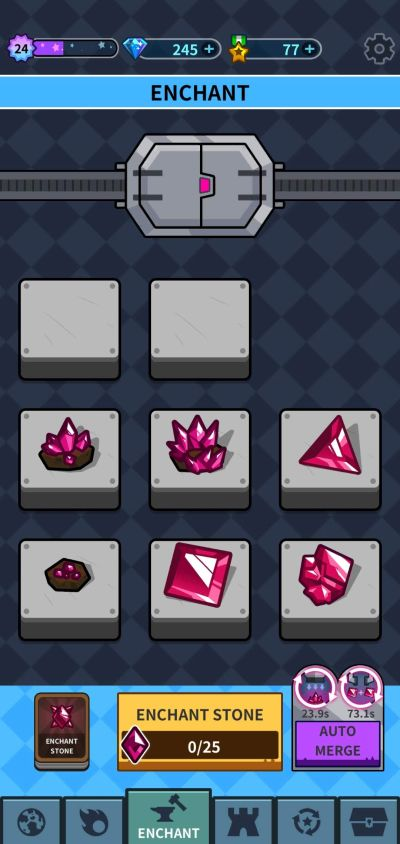 how to enchant items in hero factory