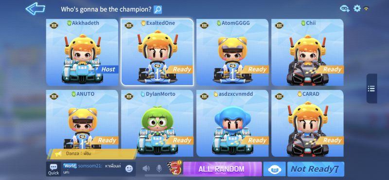 kartrider rush+ champion
