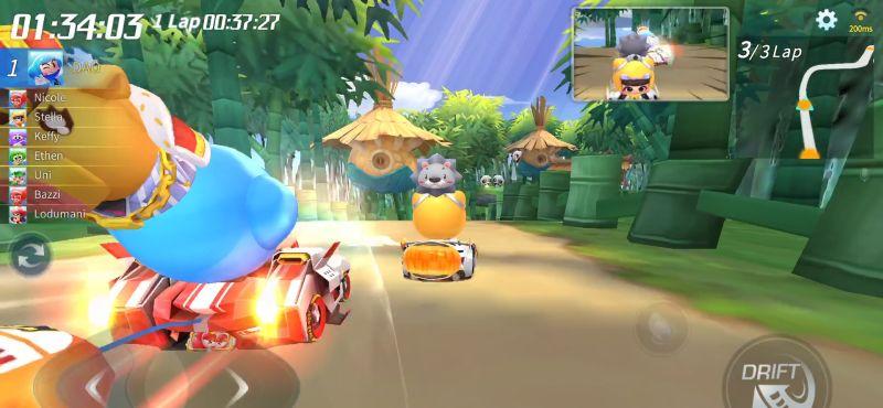 kartrider rush+ item race