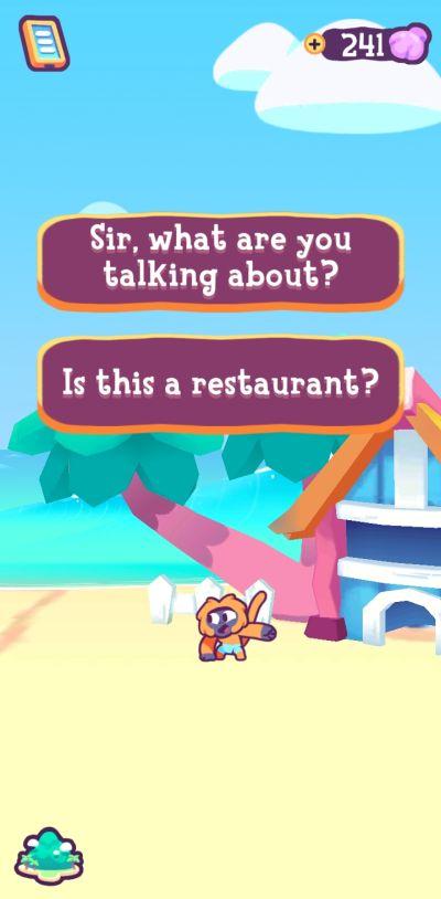 kiki's vacation interaction