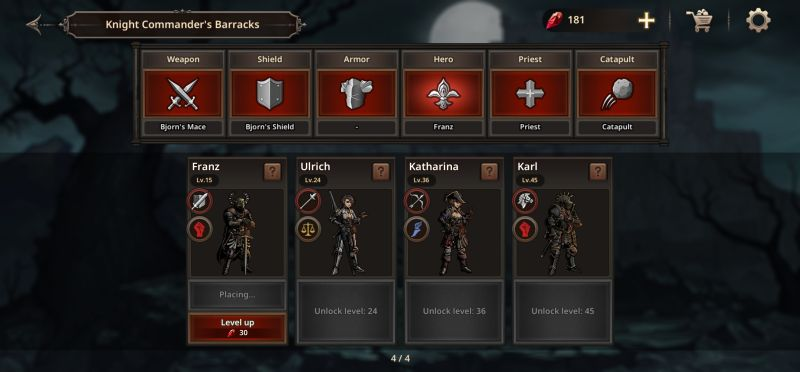 king's blood the defense battle tips