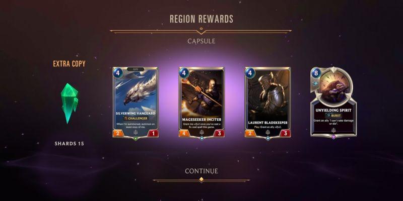 legends of runeterra region rewards