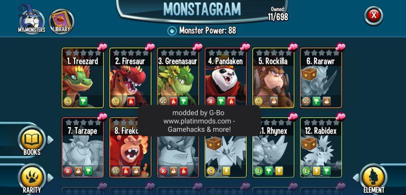 monster legends monstagram