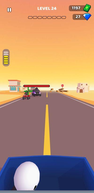 rage road ammo level