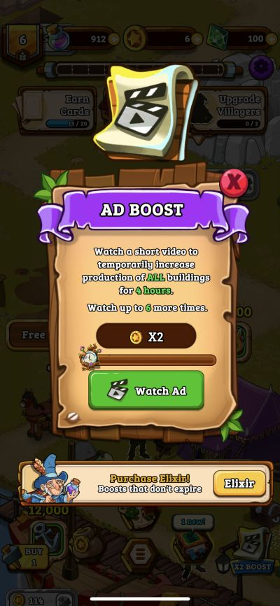 how to multiply earnings in royal idle medieval quest