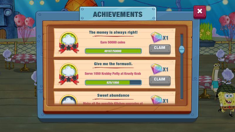 how to earn more rewards in spongebob krusty cook-off