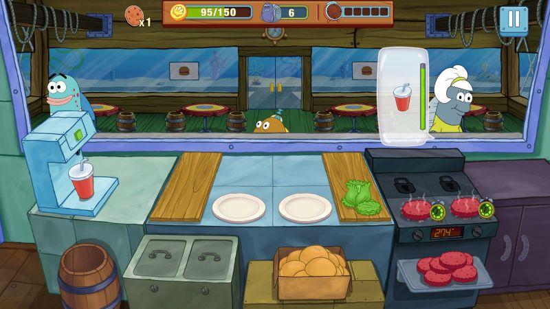 spongebob krusty cook-off cooking tips