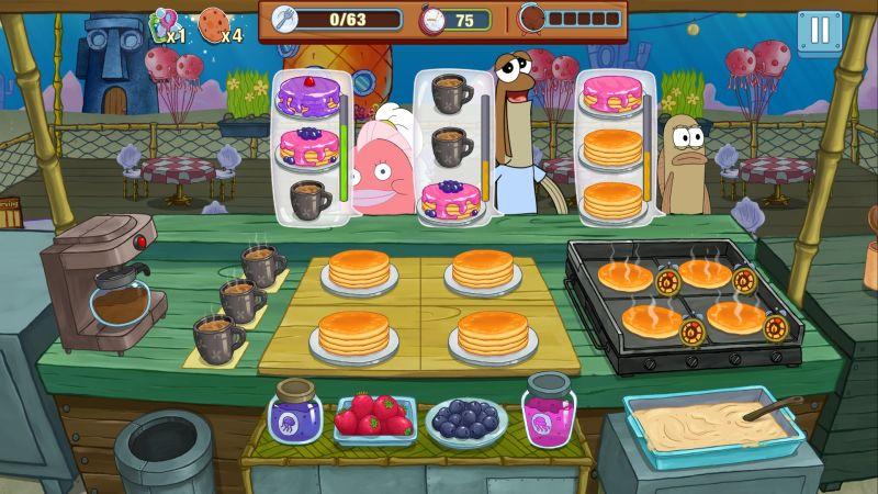 spongebob krusty cook-off orders