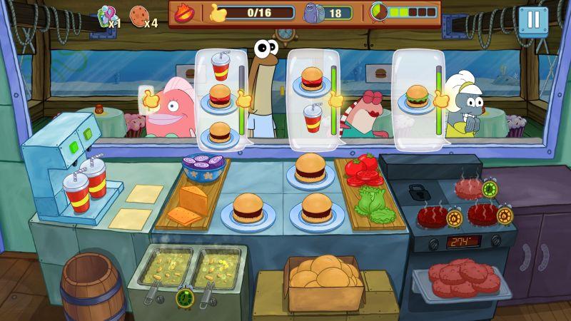 spongebob krusty cook-off strategies