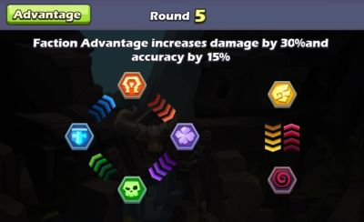 taptap heroes faction advantage