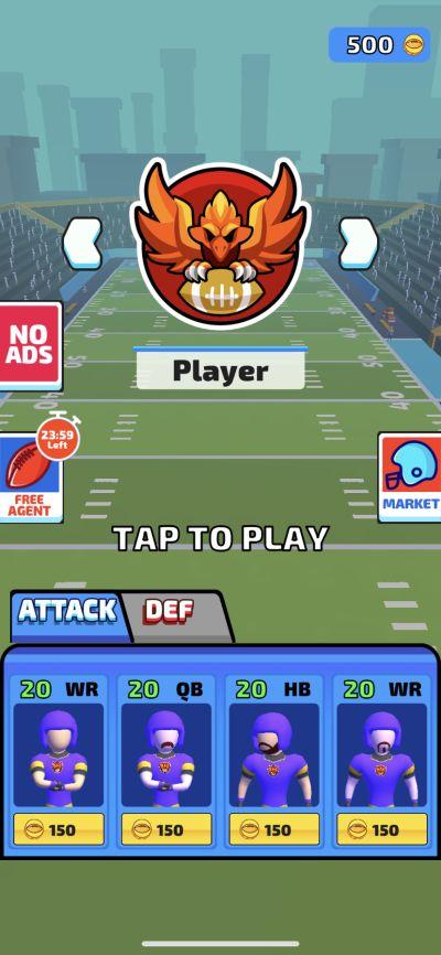 touchdown glory 2020 strategies