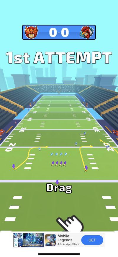 touchdown glory 2020 tricks