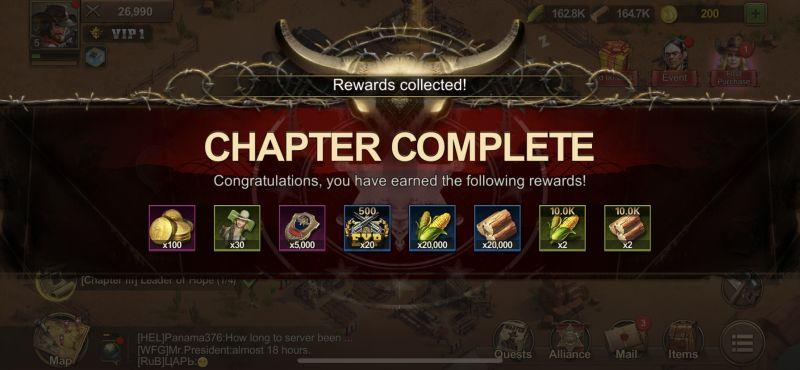 wild frontier chapter complete