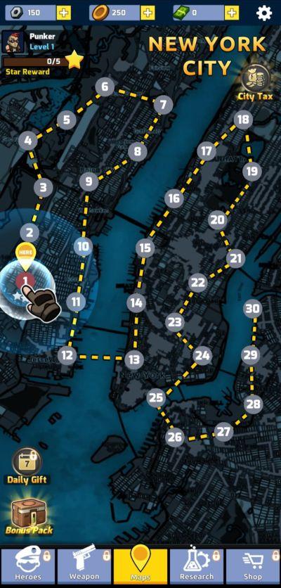 zombie idle defense new york city