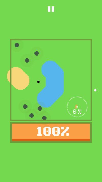 100% golf ball
