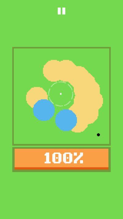 100% golf shots