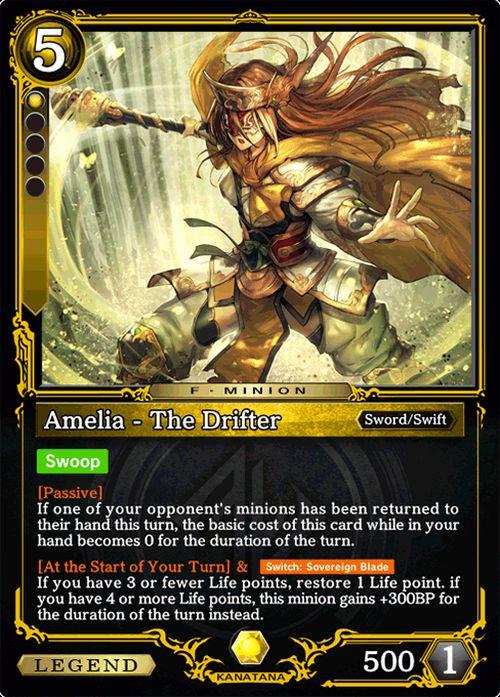 amelia the drifter zenonzard