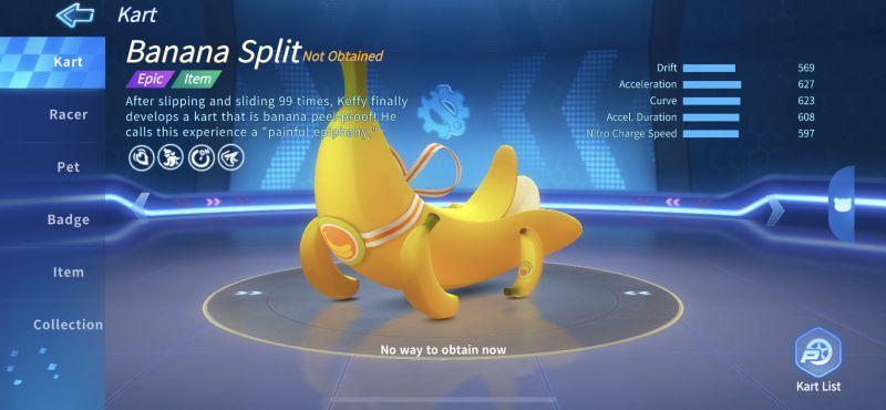 banana split kartrider rush+