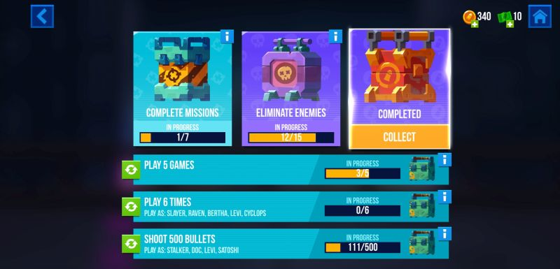 how to earn more rewards in bullet echo