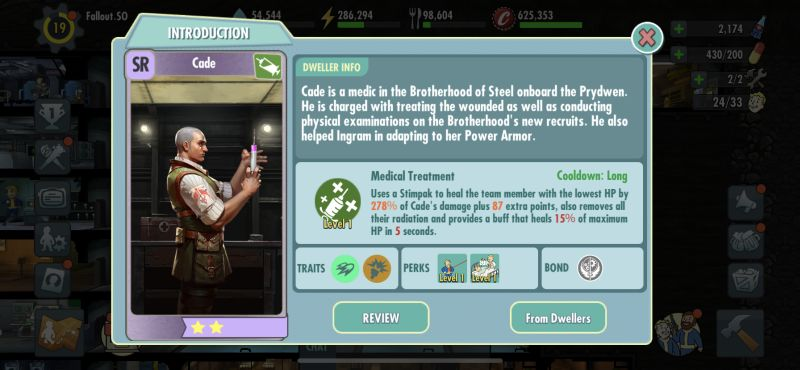 cade fallout shelter online