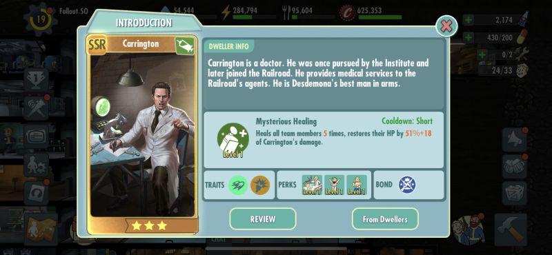 carrington fallout shelter online