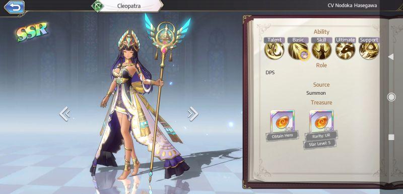 cleopatra goddess of genesis
