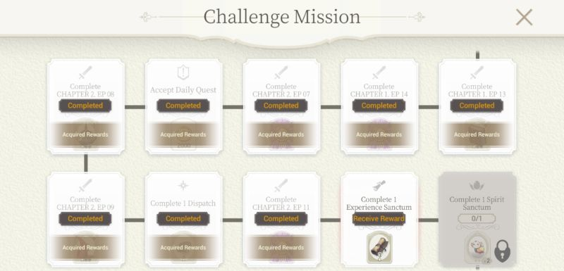 how to complete challenge missions in exos heroes