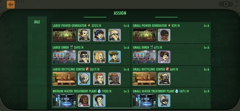 fallout shelter online assignments