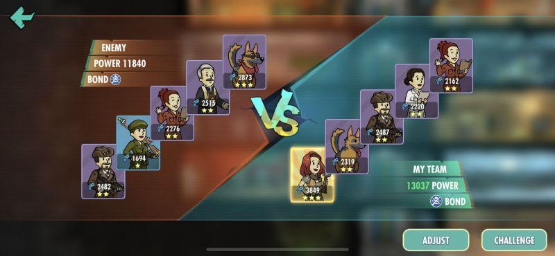 fallout shelter online battle