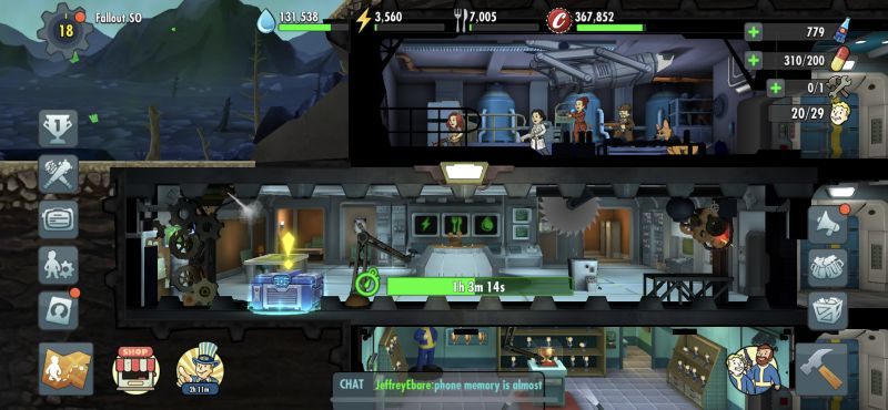 how to eliminate idle time in fallout shelter online