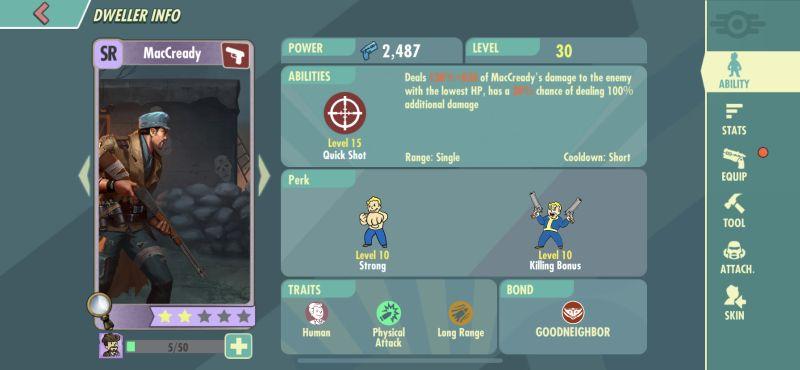 fallout shelter online maccready