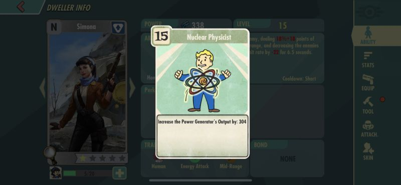 fallout shelter online nuclear physicist