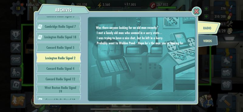 fallout shelter online radio