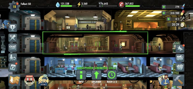 how to get more resources in fallout shelter online