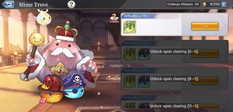 how to complete the daily dungeons in goddess of genesis
