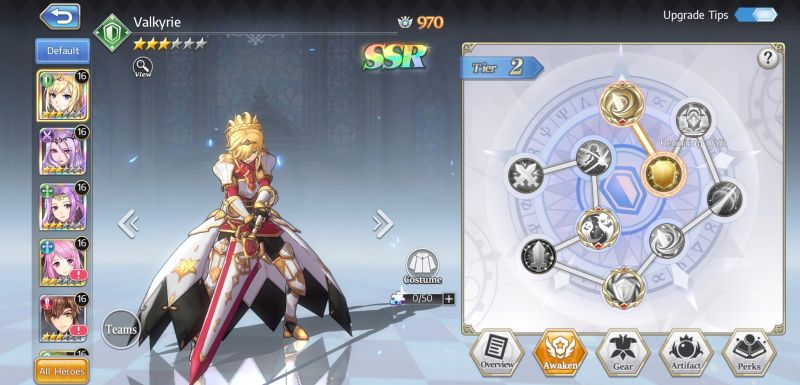 how to reroll for the best heroes in goddess of genesis