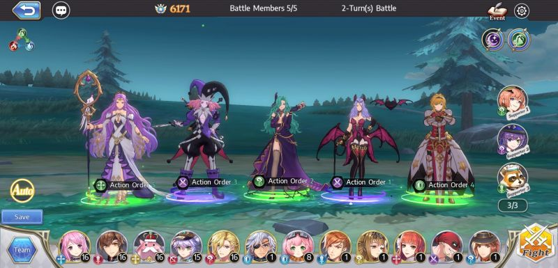 how to build a powerful team in goddess of genesis