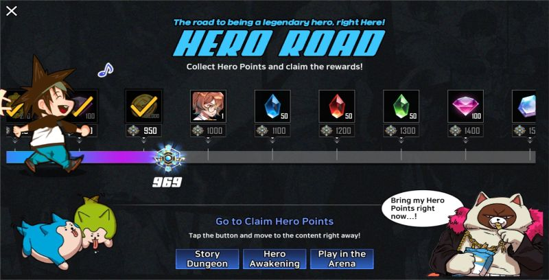 hero cantare hero road